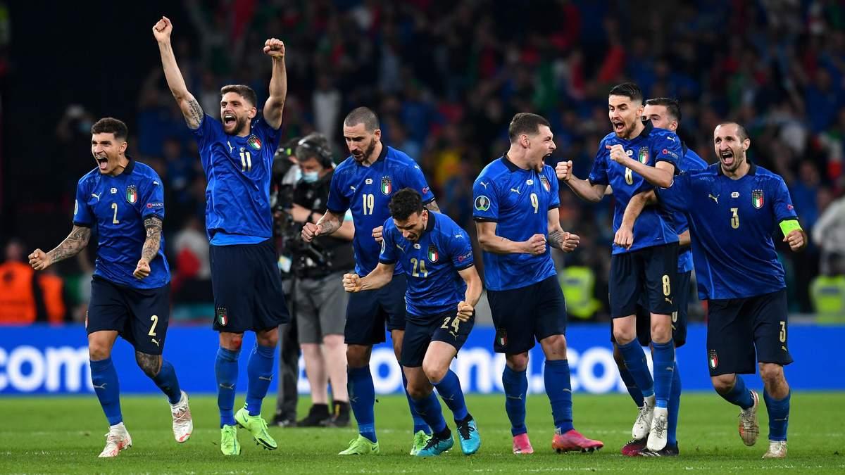 Италия – Англия – результат, счет матча Евро 2020