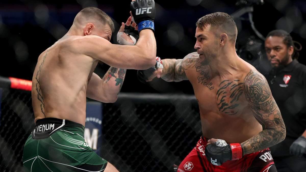 МакГрегор – Порье – результат боя UFC, кто победил