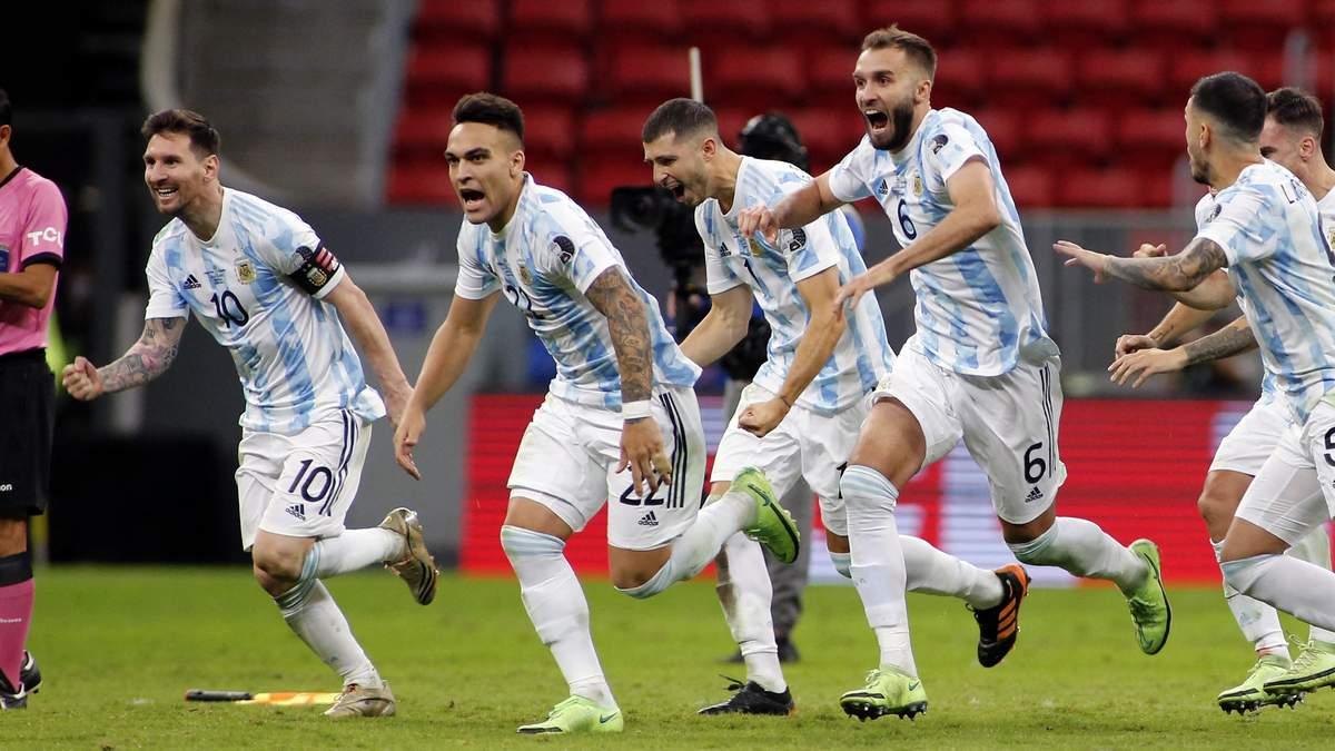 Бразилія - Аргентина - результат, рахунок матчу фіналу Копа Америка