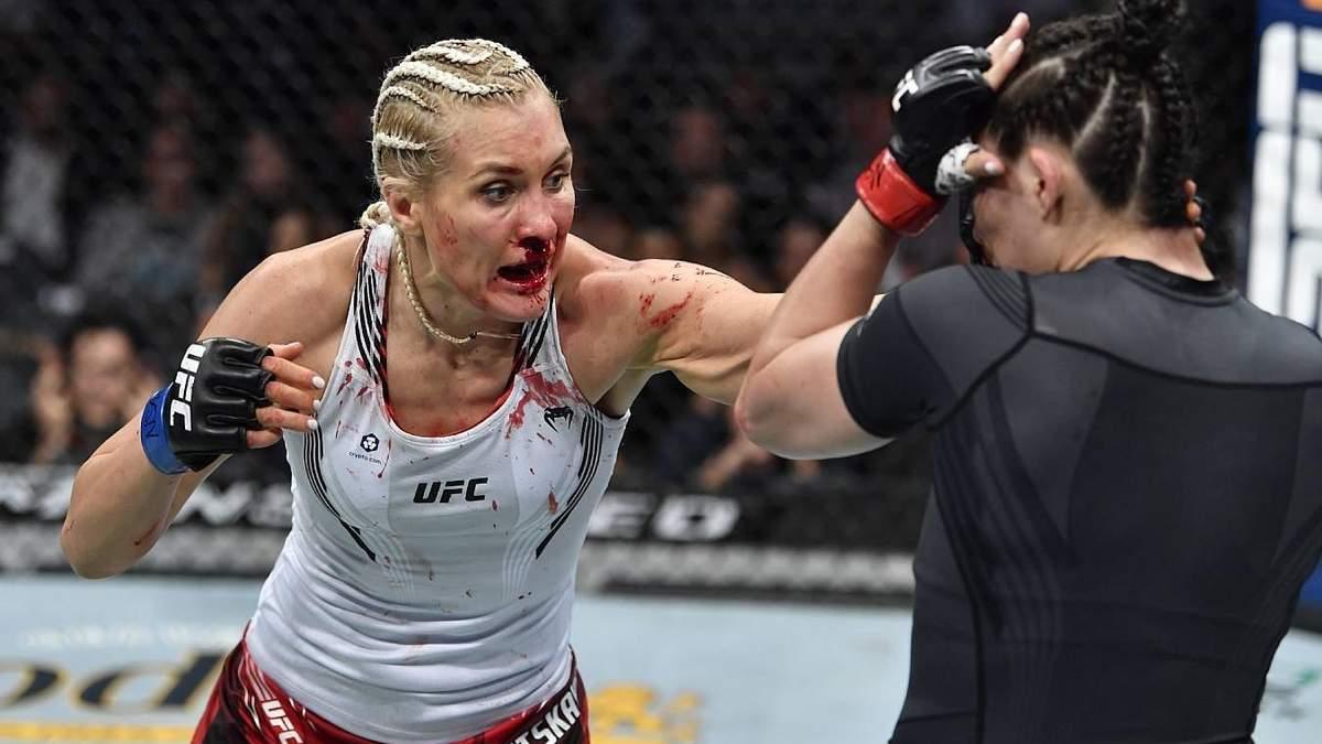 Яна Куницкая - Ирен Алдана: результат и видео боя UFC 264