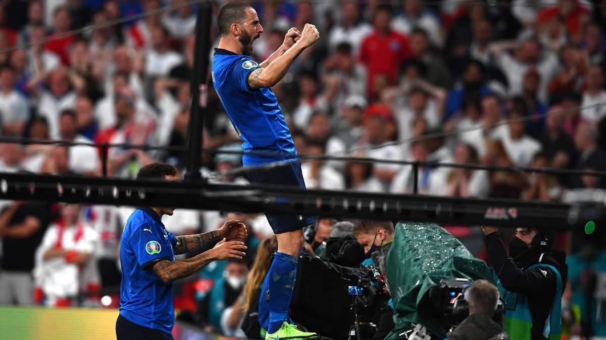 Леонардо Бонуччі зрівняв рахунок у фіналі Євро 2020 Італія - Англія