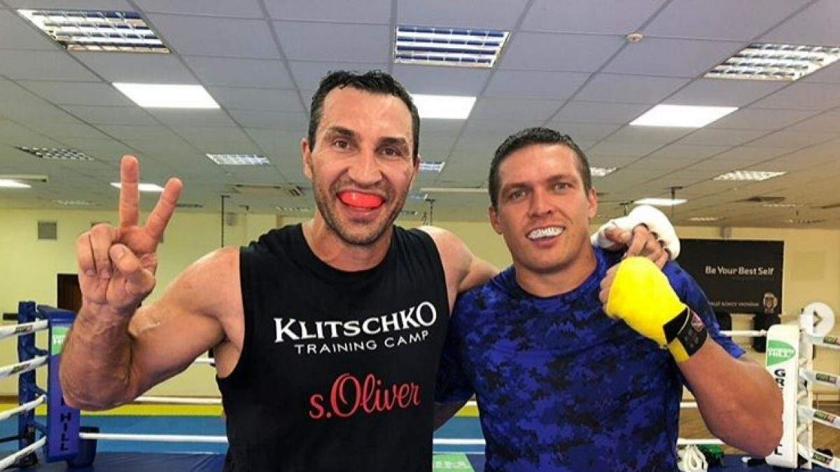 Владимир Кличко поможет Усику в подготовке к бою с Джошуа
