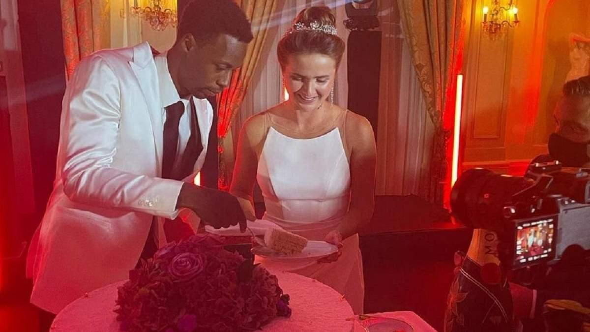 Фото та відео з розкішного весілля Світоліної та Монфіса – деталі