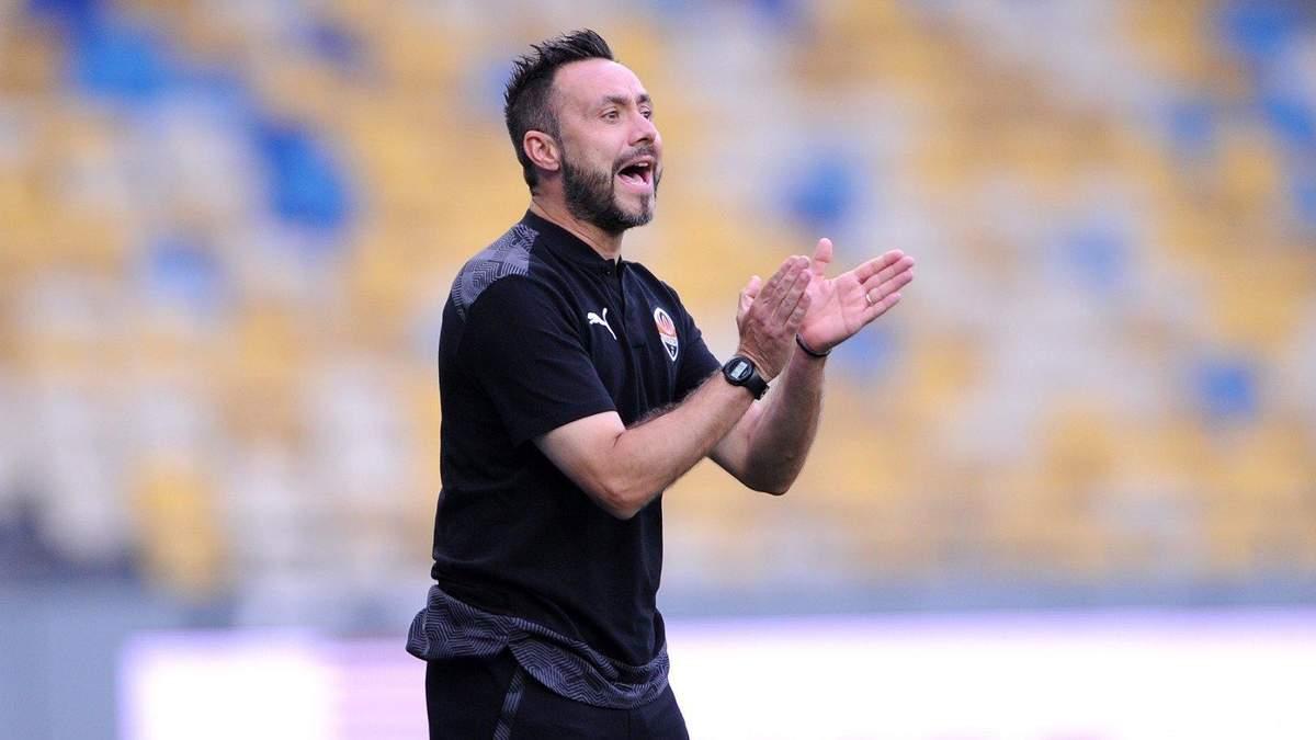 Роберто Де Дзерби впервые прокомментировал соперника Шахтера в Лиге чемпионов