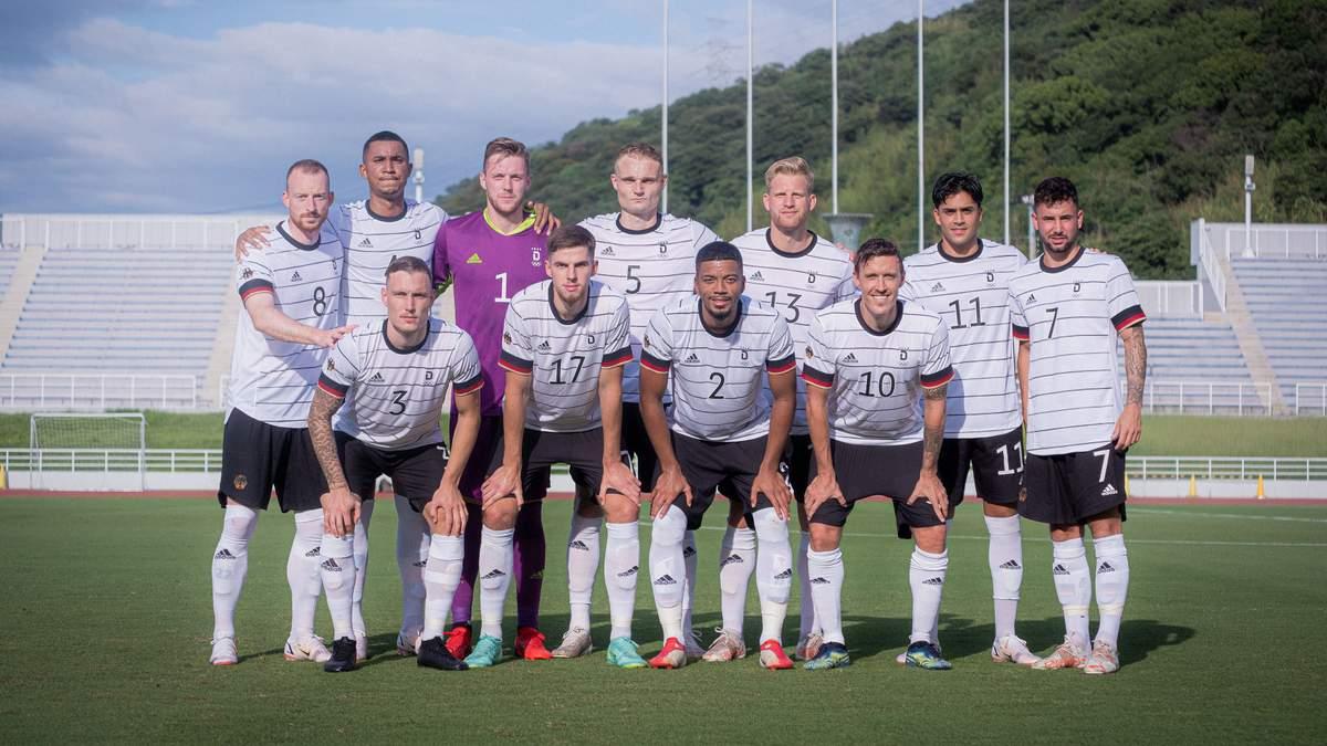 Збірна Німеччини з футболу на Олімпіаді зіграє у траурних пов'язках - Спорт 24