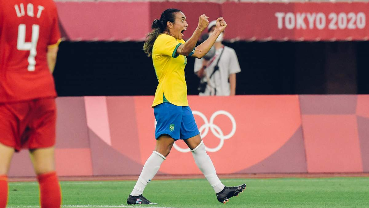 Дві футболісти збірної Бразилії встановили унікальні досягнення на Олімпіаді - Спорт 24
