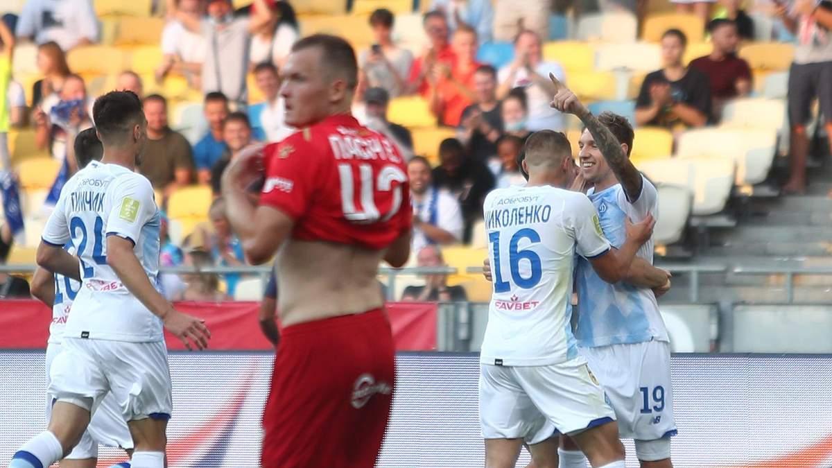 Динамо Київ - Верес: результат матчу 1 серпня 2021, огляд