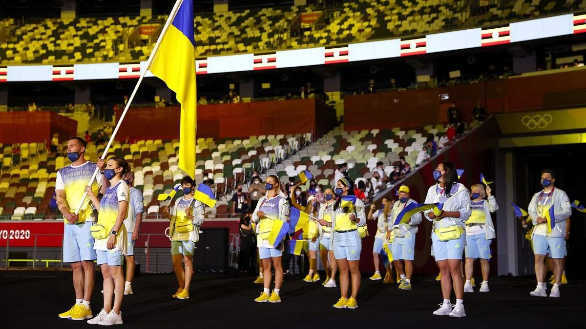 Церемонія відкриття Олімпіади 2020: вихід України