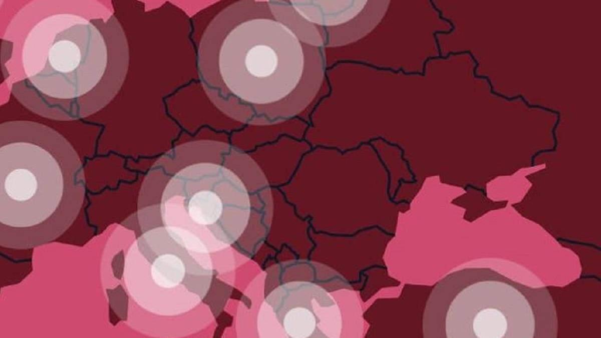 Україна без Криму: сайт Олімпійських ігор прибрав скандальну карту
