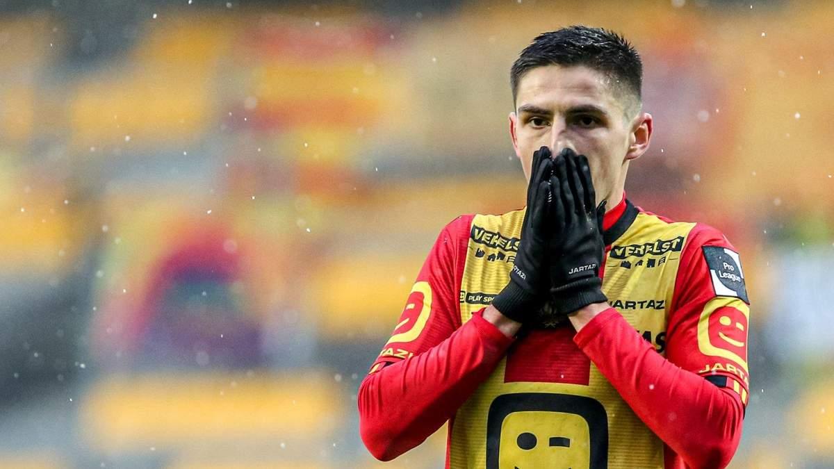 Бельгийский клуб официально подписал контракт с украинцем Шведом