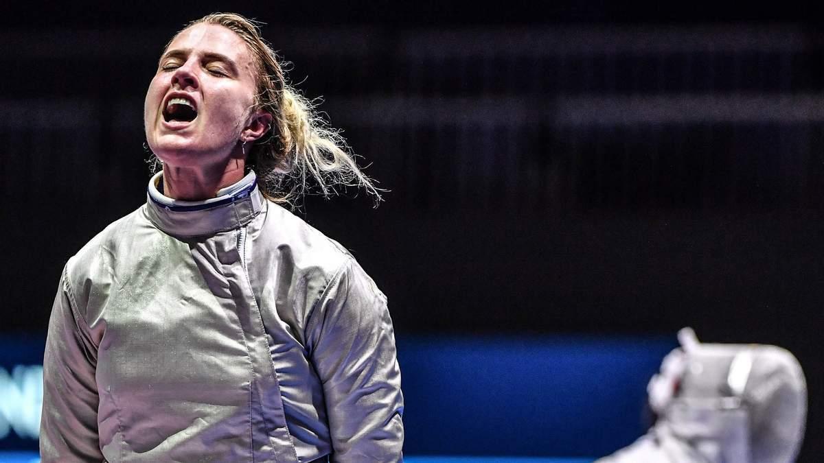 Ольга Харлан покинула Олімпіаду після першого поєдинку