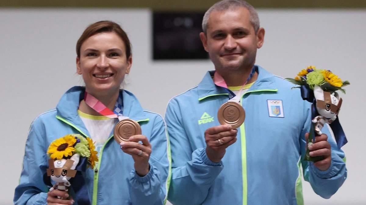 Украинцы Костевич и Омельчук завоевали бронзу Олимпиады
