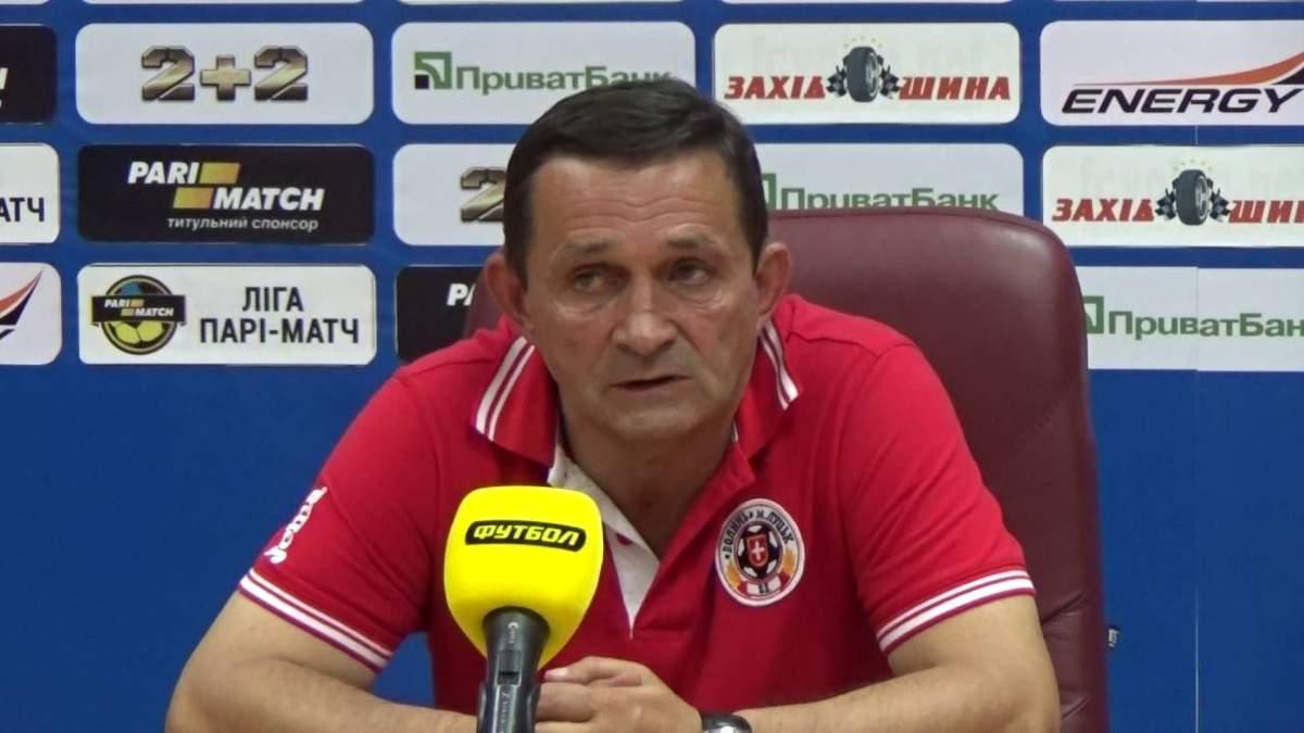 Умер известный украинский футболист и тренер Владимир Дикий