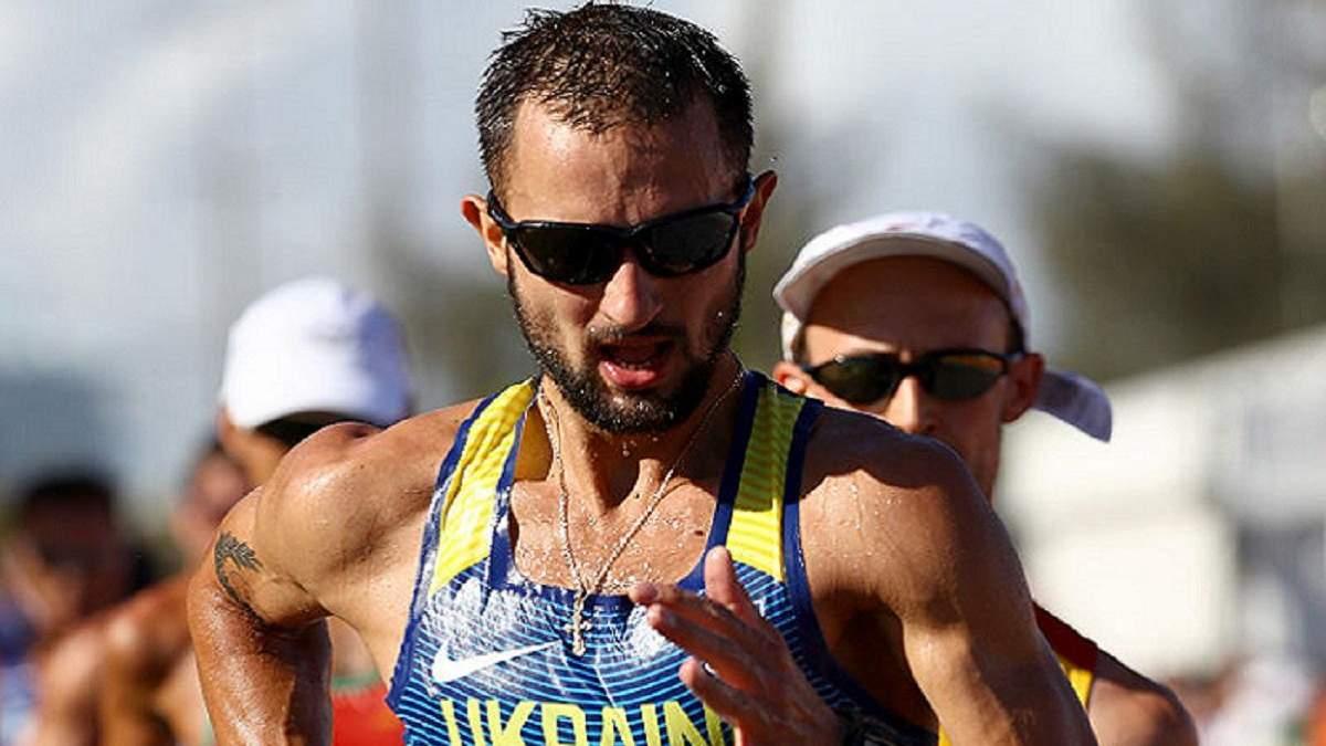 Трьох легкоатлетів з України відсторонили від Олімпади-2020