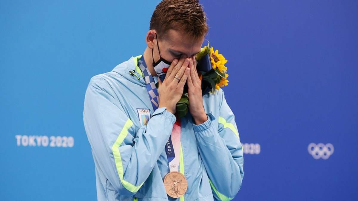 Романчук завоював для України медаль Олімпіади у плаванні за 17 років