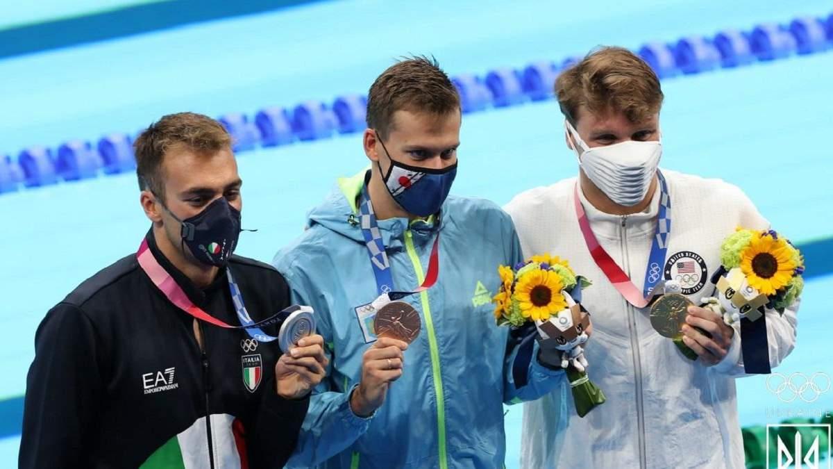 Украинские спортсмены поздравили Романчука с бронзой Олимпиады-2020