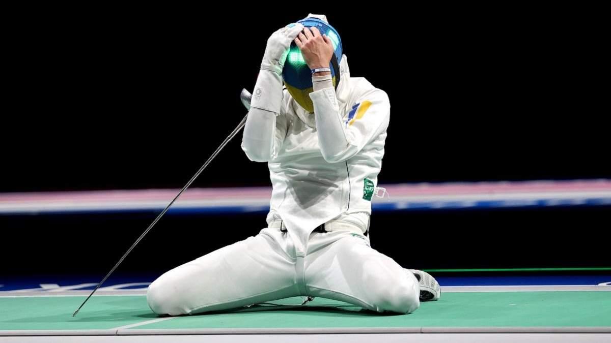 Украинские шпажисты уступили китайцам в четвертьфинале Олимпиады