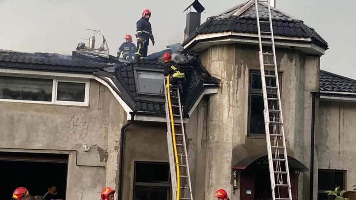 На Ивано-Франковщине сгорел дом украинском гандболистки