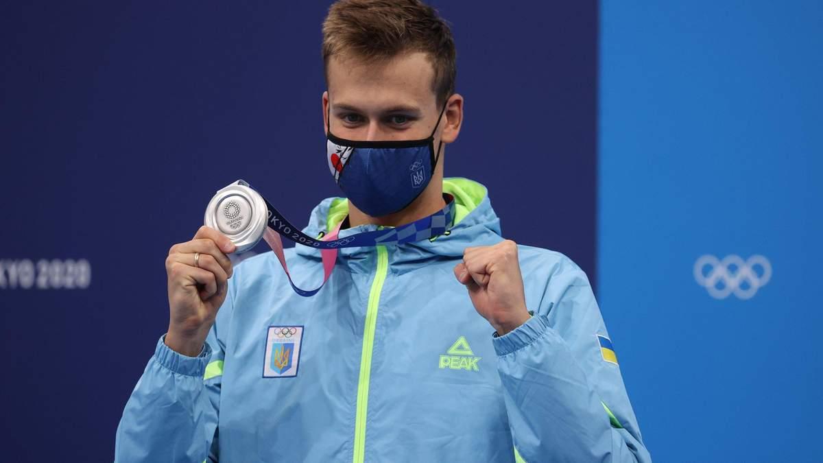 Михайло Романчук здобув срібло на Олімпіаді 2020: відео запливу