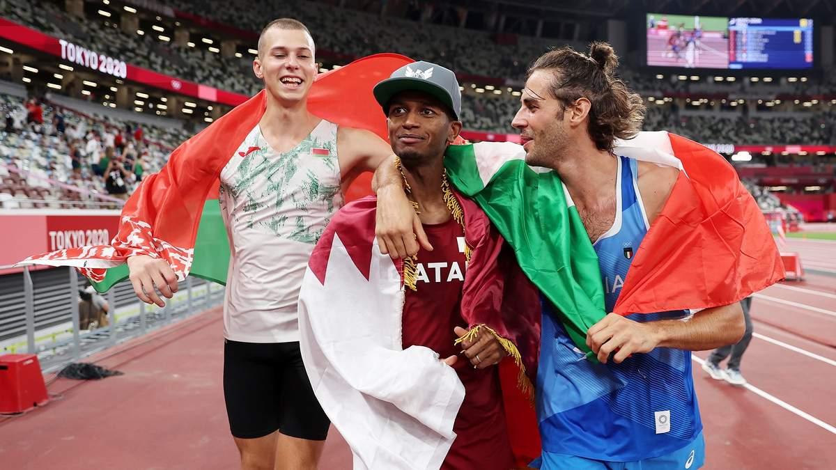 На Олимпиаде не смогли определить чемпиона в прыжках в высоту: золото дали обоим прыгунам