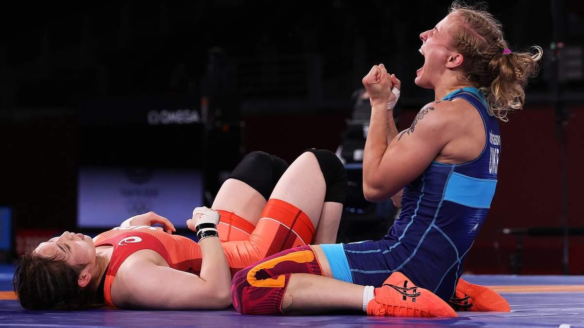 """Як Черкасова здобула """"бронзу"""" на Олімпіаді: відео бою та церемонія нагородження - Новини спорту - Спорт 24"""