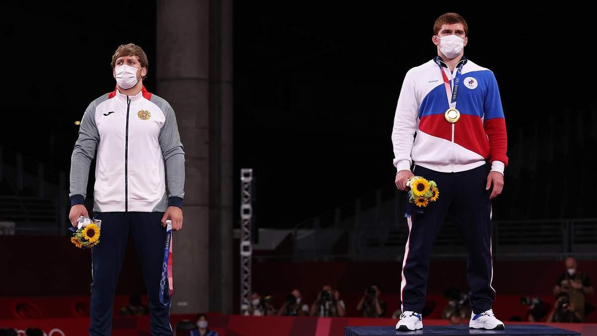 Треба бути з Росії, щоб виграти, – вірменин відмовився одягати срібну медаль на Олімпіаді-2020 - Новини спорту - Спорт 24