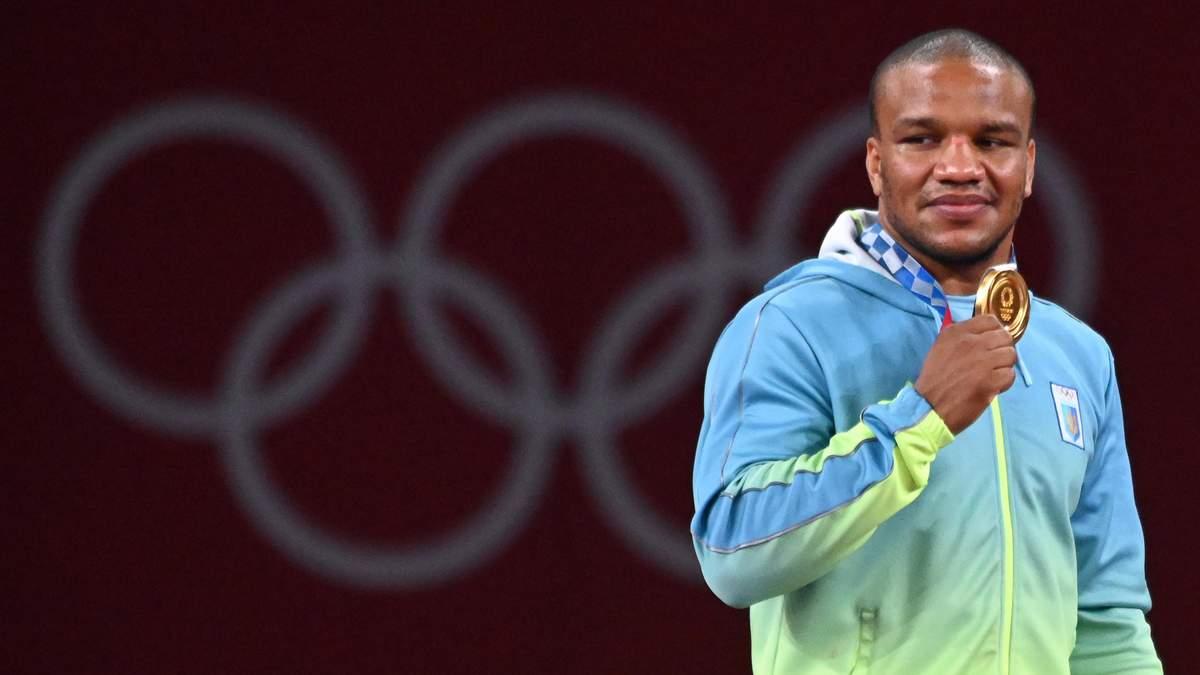 Жан Беленюк не зміг стримати сліз після взяття золота на Олімпіаді