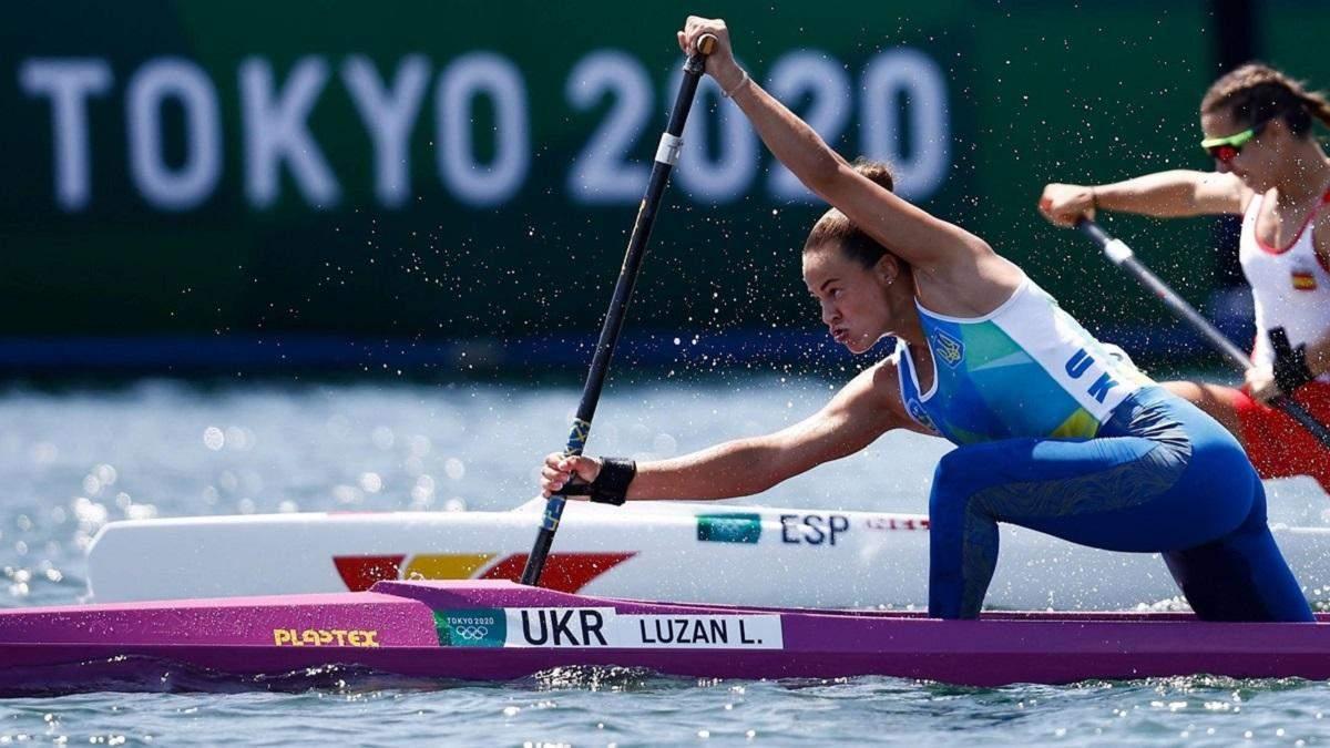 Украинка Лузан – бронзовый призер Олимпиады по гребле на каноэ