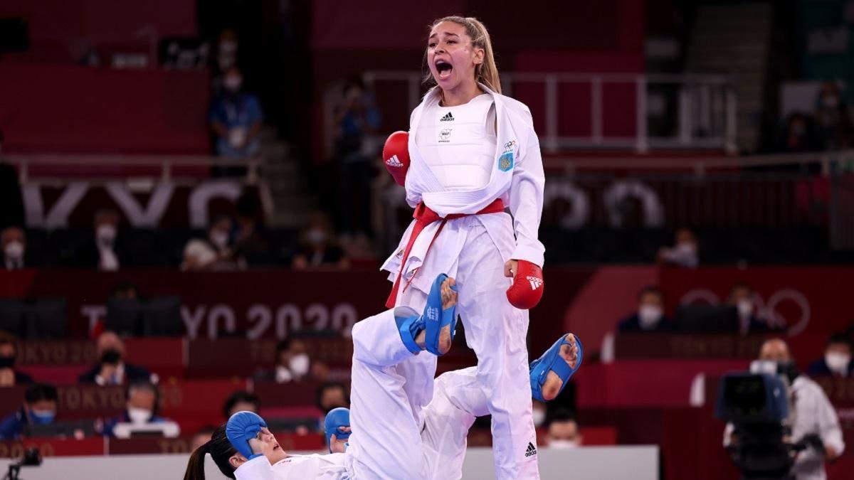 Терлюга принесла Украине историческое серебро Олимпиады-2020 по карате