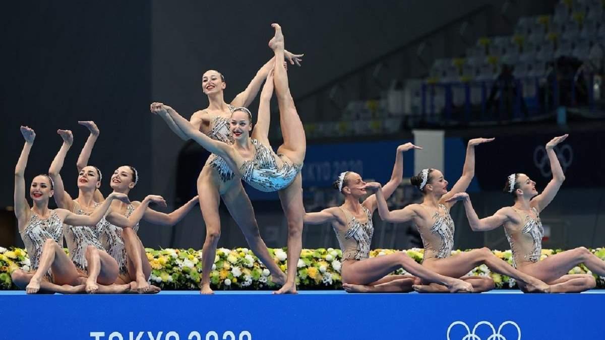 Украинские синхронистки завоевали третье место на Олимпиаде-2020