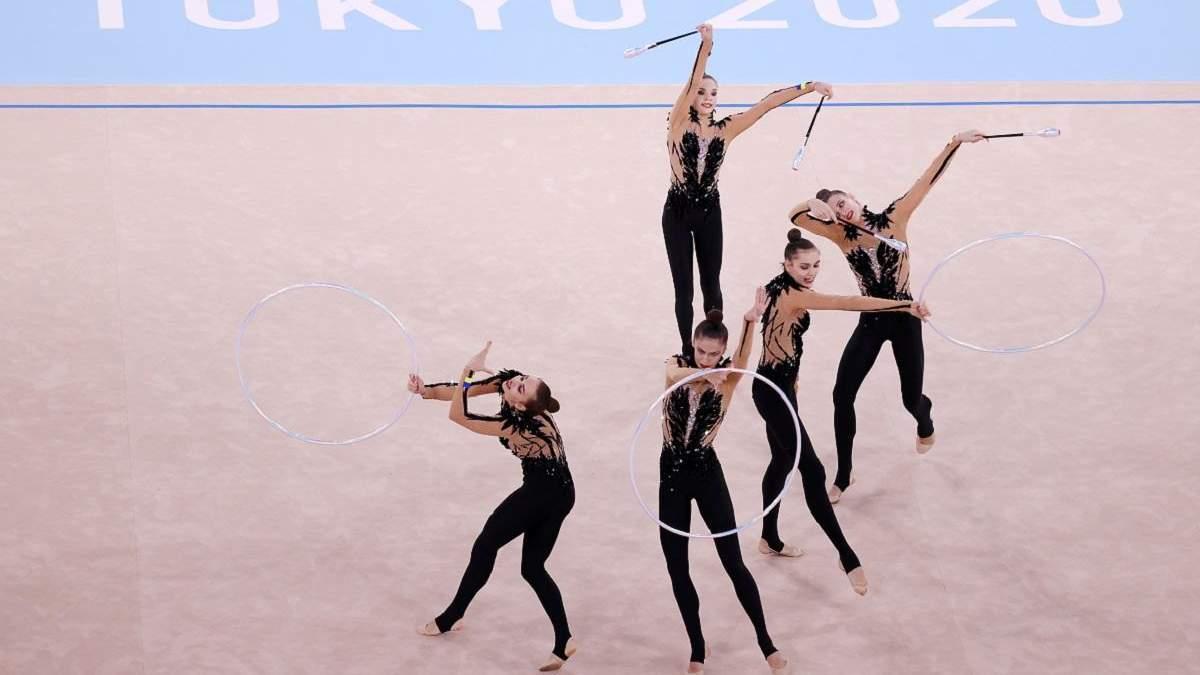 Українські гімнастки посіли 7 місце у командному багатоборстві
