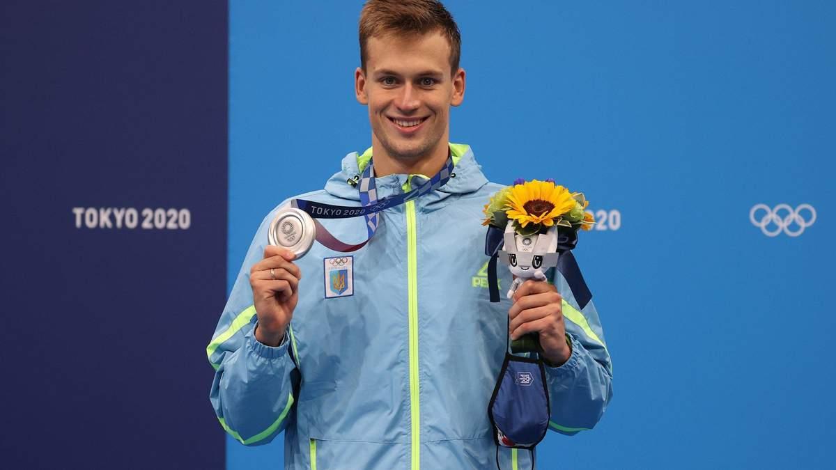 Михайло Романчук здобув дві медалі на Олімпіаді