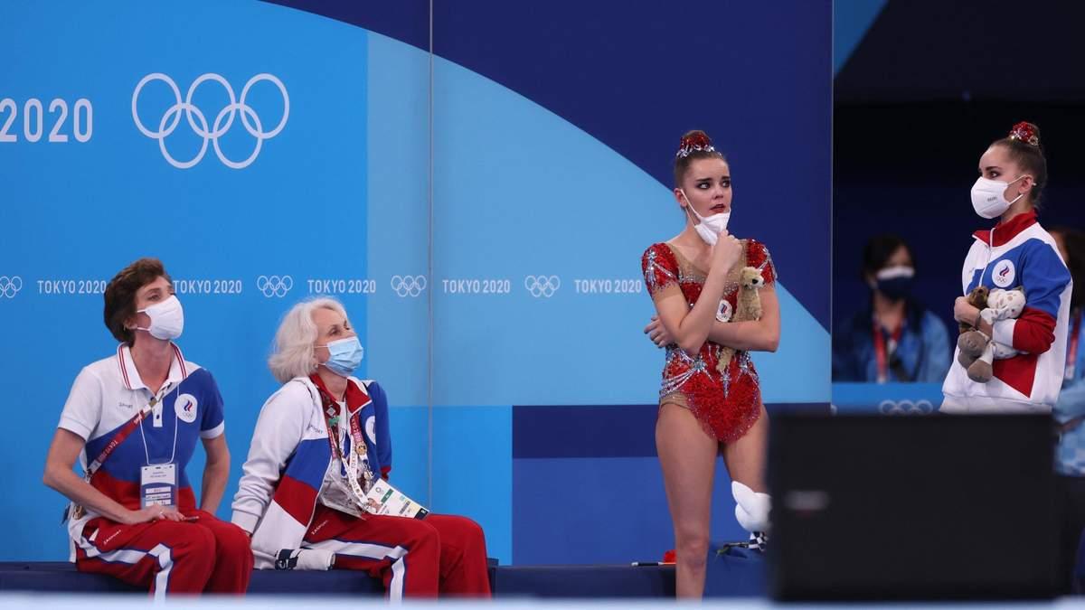Росіянка розплакалася через поразку на Олімпіаді