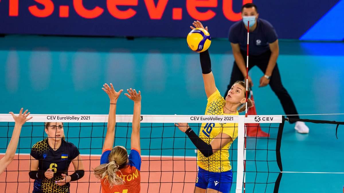 Україна впевнено обіграла Румунію на жіночому чемпіонату Європи з волейболу - Новини спорту - Спорт 24