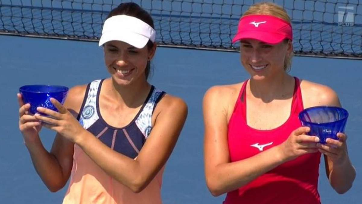 Надія Кіченок перемогла сестру Людмилу у фіналі парного турніру в Чикаго - Новини спорту - Спорт 24