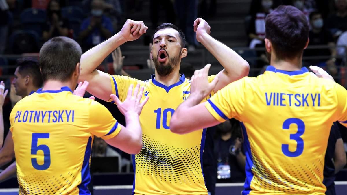 Сборная Украины по волейболу с боем уступила Польше на Евро-2021