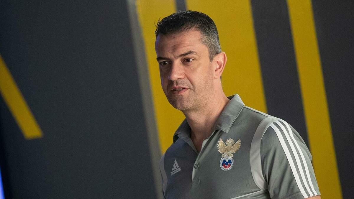 В России уволили арбитра, который отобрал у Украины Евро-2012