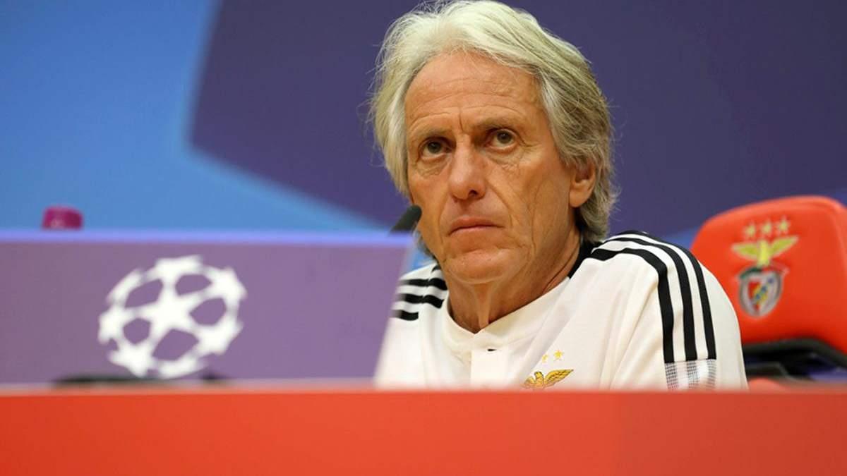 Тренер Бенфіки порівняв київське Динамо з московським Спартаком