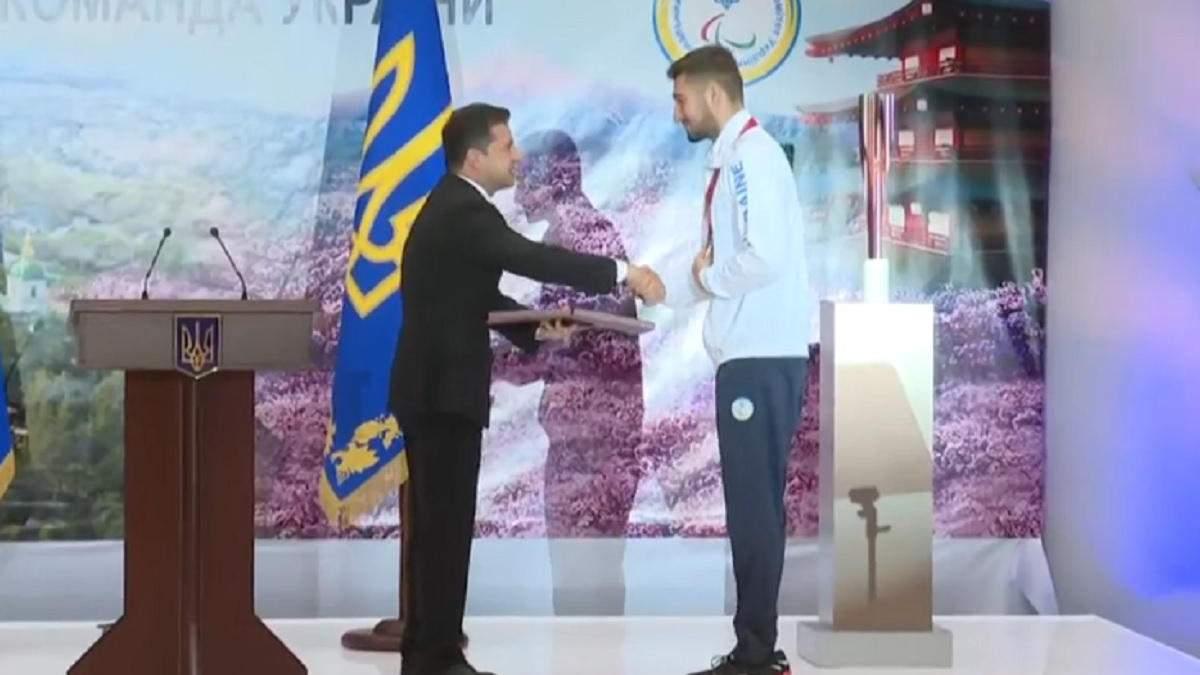 Паралімпієць Максим Кріпак отримав звання Героя України - Новини спорту - Спорт 24
