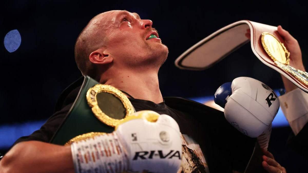 Вони хотіли вбити один одного, – реакція Усика на бій Ф'юрі – Уайлдер - новини боксу - Спорт 24