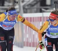 Біатлон: Німеччина виграла жіночу естафету в Оберхофі, Україна 8-а з двома штрафними колами