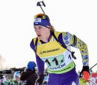 Биатлон: сборная Украины сильнейшей четверкой выступит в эстафете в Антхольце