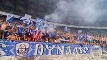 Медведчук на выход, Суркису приготовиться: ультрас вывесили политический баннер на матче Динамо