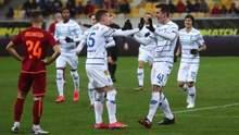 Динамо забило гол в ворота Львова на первой минуте после грубой ошибки вратаря: видео