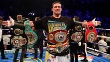 Усик підійнявся на перше місце у рейтингу WBA