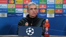 """Тренер """"Шахтаря"""" Каштру назвав причини розгрому в попередньому матчі проти """"Боруссії"""""""