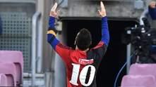 Барселона та Мессі отримали покарання за футболку Марадони під час святкування голу