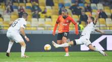 Шахтер в напряженном матче победил Маккаби и вышел в 1/8 финала Лиги Европы: видео