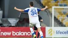 Защитник Динамо Сирота попал в сборную недели в Лиге Европы