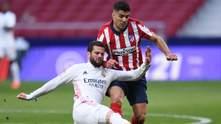 Реал на последних минутах вырвал ничью у Атлетико